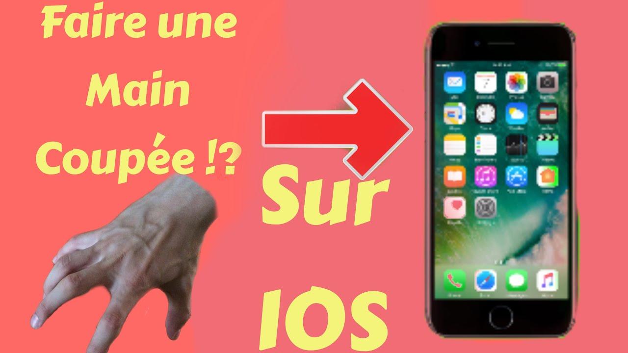 TUTO MONTAGE VIDEO   FAIRE UNE MAIN COUPÉ QUI BOUGE !!   - YouTube c831eb63b0f