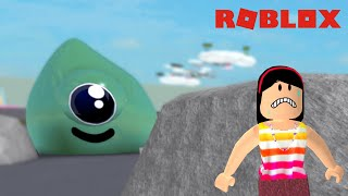 DON'T LET THE GIANT SLIME SEE YOU!! -ROBLOX (SLIME ACHIEVEMENTS)