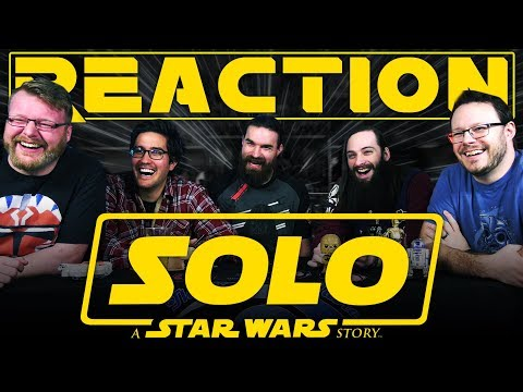 Solo: A Star Wars Story Official Trailer REACTION!! #SoloReactions