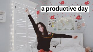 be productive with me 🌿🍡 vlog style !