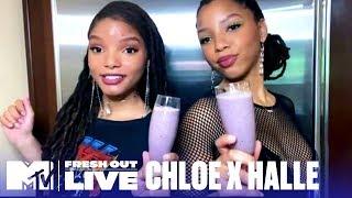 The Perfect Vegan Smoothie w/ Chloe x Halle   #MTVFreshOut