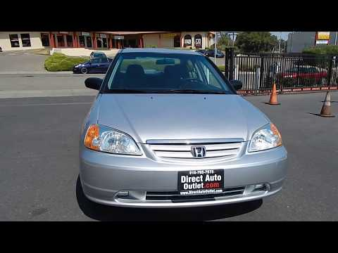 2003 Honda Civic LX Sedan video overview and walk around.