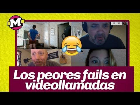 Las Peores Embarradas En Medio De Videollamadas