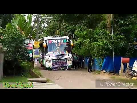 കിടിലം വരവേൽപ്പ് ! TAJMAHAL Travels Kollam - First Trip Exclusive Video ! Glass Floor Edition