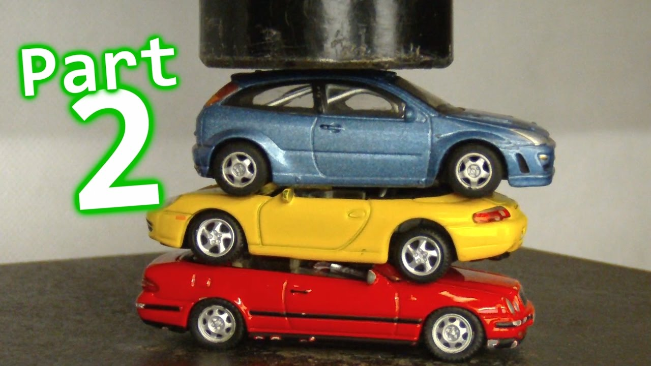 Toy Car Crusher Part 2 - YouTube