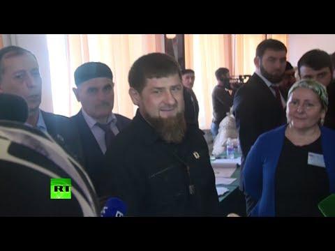 Рамзан Кадыров проголосовал