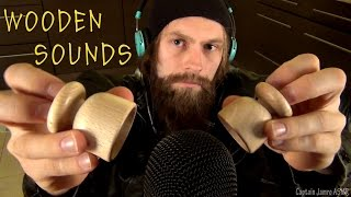 amazing wooden asmr sounds for sleep and relax no talking