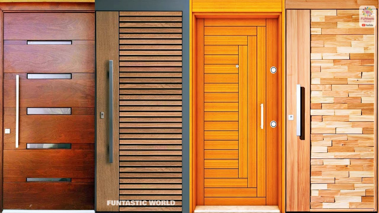 Latest Attractive Wooden Doors Designs Front Entrance Wood Doors Shape Ideas Youtube