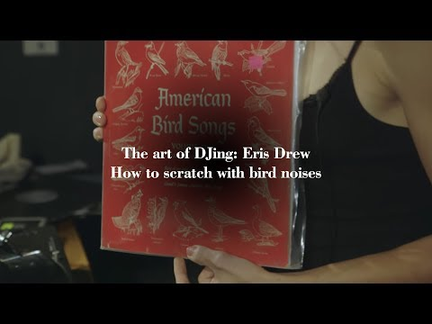 The art of DJing: Eris Drew - How to scratch with bird noises