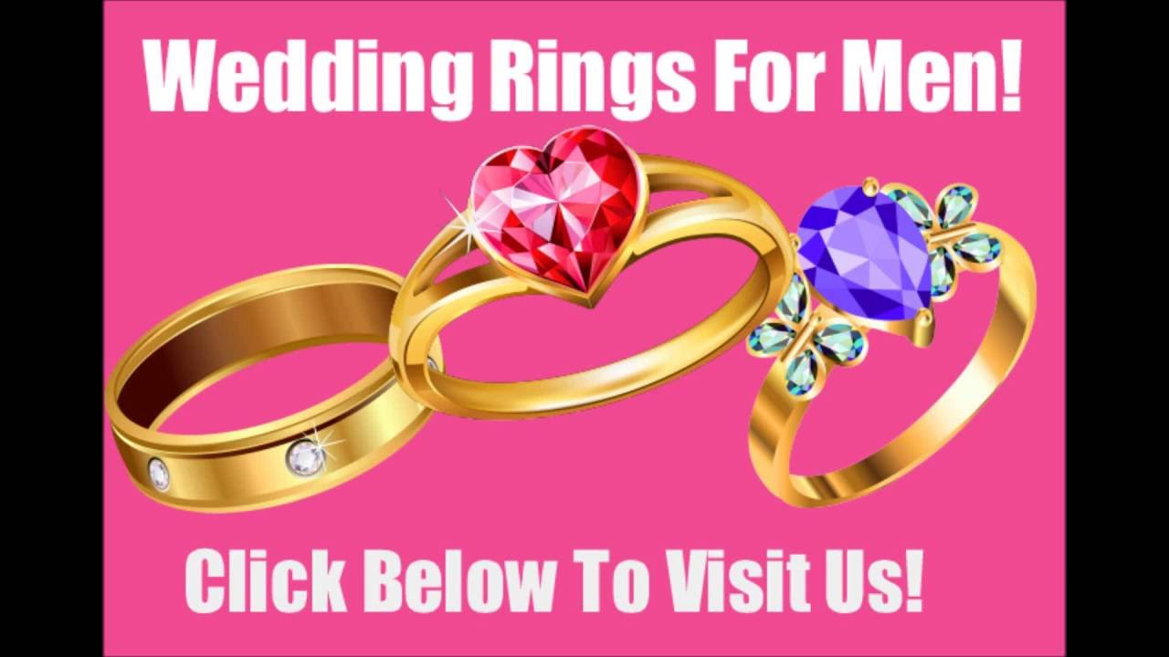 Handsome Men\'s Wedding Rings Temple Terrace++ - YouTube