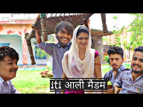 i.t.i आली मैडम ft. Pooja Khatkar || Hum Haryanvi New Comedy 2020