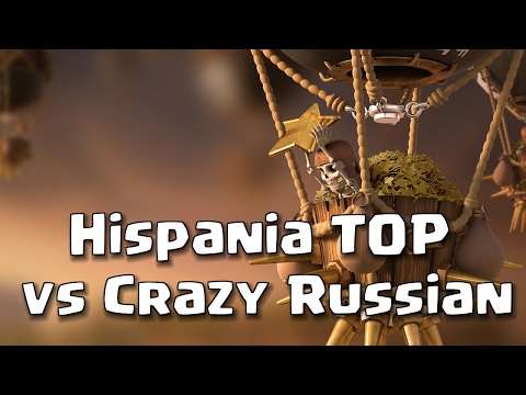 Hispania TOP vs Crazy Russian: Gran Guerra TH11-TH10-TH9 | Clash of Clans