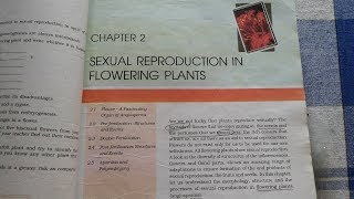Sexual Reproduction In Flowering Plants|PART-1|NCERT|12TH CLASS|BIOLOGY