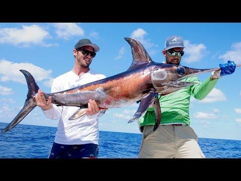 Deep Water Swordfish | Catch N Cook