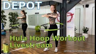 DEPOT Hula Hoop Livestream