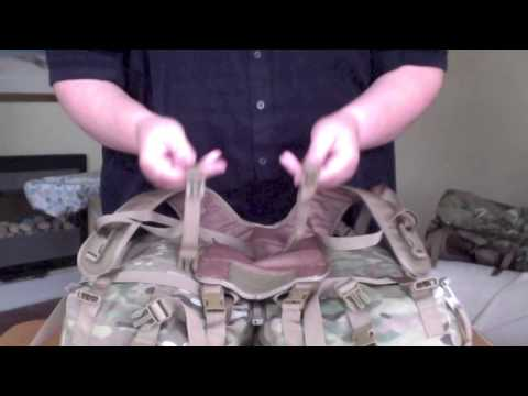How to Make a Backpack from British Army PLCE Pouches