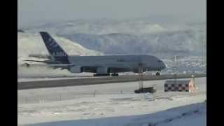 высший пилотаж А380 вылет на северном