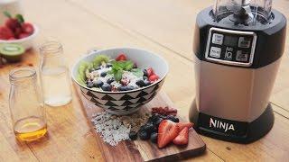 nutri ninja recipe how to make an acai bowl with acai fruits