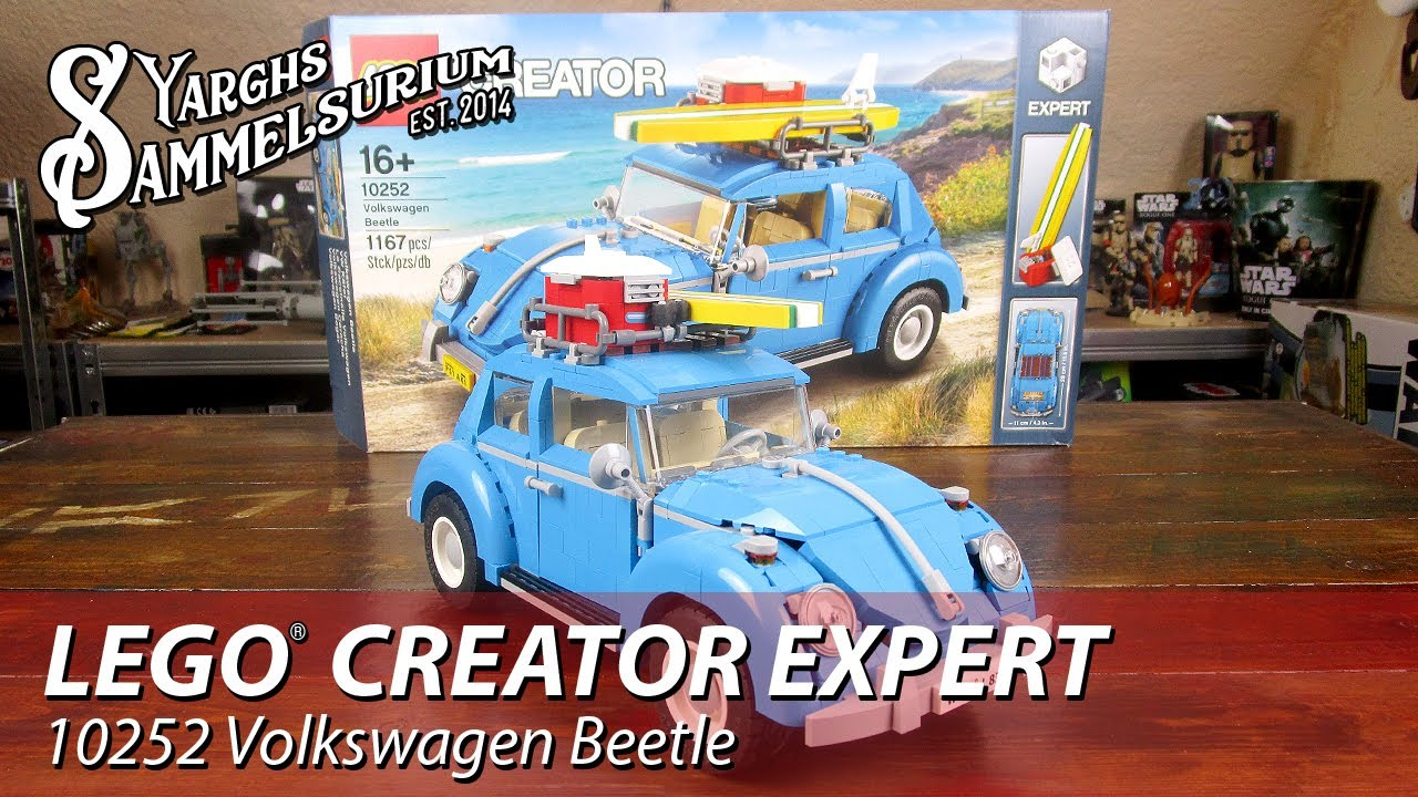 lego creator expert volkswagen beetle k fer 10252. Black Bedroom Furniture Sets. Home Design Ideas
