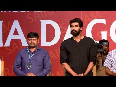 Sairam Institutions - Rana Daggubati (Indian actor) Celebrity Chat on 18th Sep 2017
