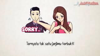 Download lagu 🎧 Marsha Zulkarnain   Hati Terlatih Bikin Mewek    VERSI ANIMASI LIRIK   YouTube