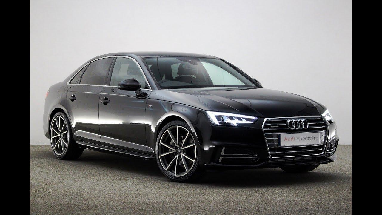 Re17ubs Audi A4 Tdi Quattro S Line Black 2017 Reading