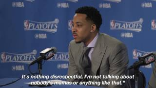 CJ McCollum told Draymond Green to do more calf raises after missing dunk