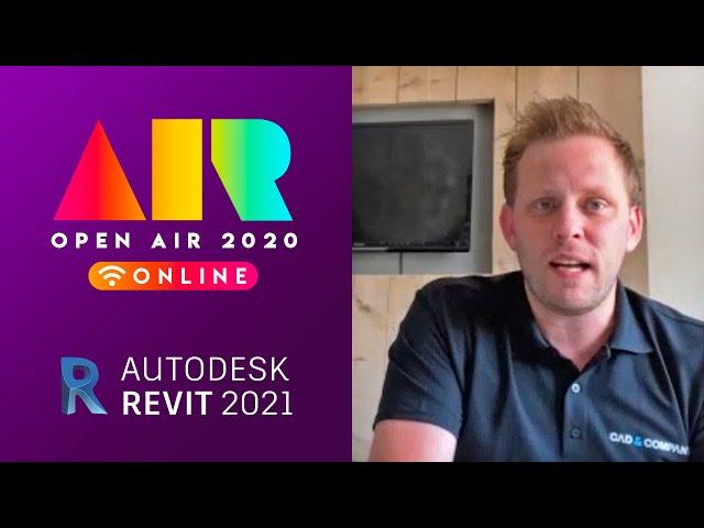 OPEN AIR 2020: Revit 2020 en 2021