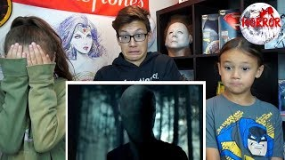 SLENDER MAN Trailer #2 REACTION