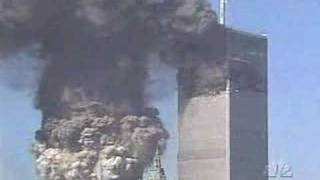 WTC South Tower collapse from North East