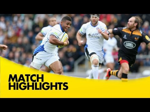 Wasps V Bath Rugby - Aviva Premiership Rugby 2014/15