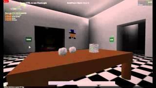 FNAT five nights at Thomas's ROBLOX Part 4
