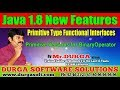 Java 8 New Features || Primitive Versions for BinaryOperator || By Durga