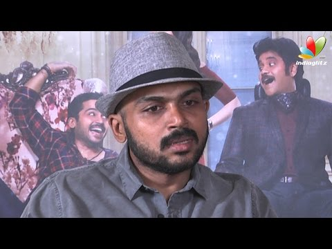 Karthi Interview : I miss my family because of my Cinema life | Thozha Movie