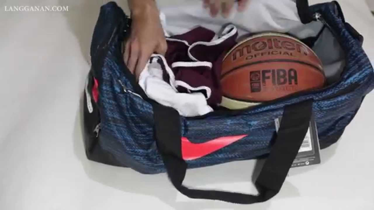 cb0474c7281b Nike Team Training Max Air Medium Duffel Bag Intl