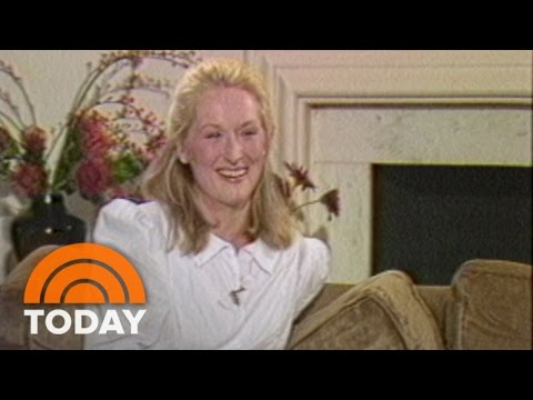 TBT: Meryl Streep On The Funny Side Effects Of Fame  TODAY