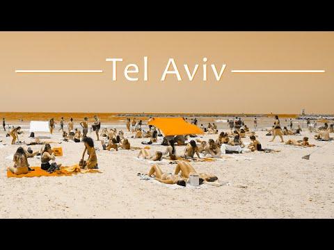 ISRAELI WOMEN Are the HAPPIEST, Tel Aviv Walk