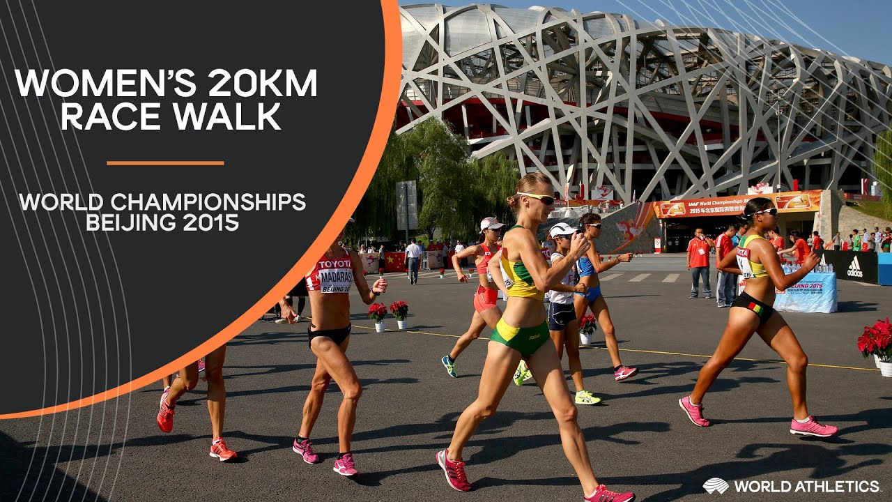 Women's 20km Race Walk | World Athletics Championships Beijing 2015
