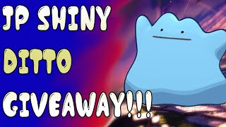 LIVE! KioGaming! Pokemon Sword & Shield! JP Shiny Ditto Giveaway!