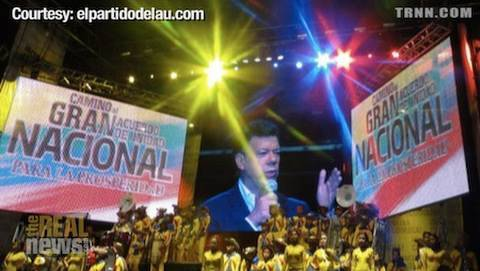 Right wins big in Colombia