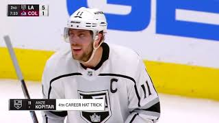 Los Angeles Kings vs Colorado Avalanche - March 22, 2018 | Game Highlights | NHL 2017/18