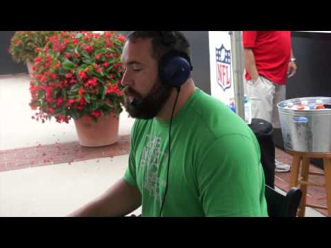 Panthers Training Camp 2015: Ryan Kalil Interview