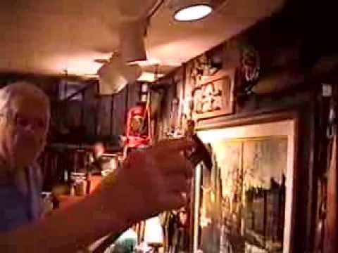 John Clark of Scott Bakery 2004 showing his tool collection II, Fort Wayne, IN