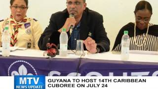 MTV News Update July 13, 2016 - Guyana to host 14th Caribbean Cuboree on July 24