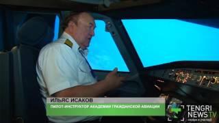 Действия пилотов при отказе шасси показали на тренажере инструкторы
