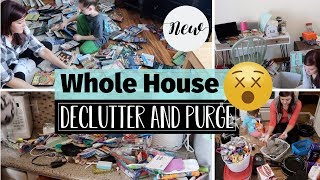 EXTREME DECLUTTER AND ORGANIZE 2019| WHOLE HOUSE MOTIVATIONAL DECLUTTER AND PURGE | TIMELAPSE