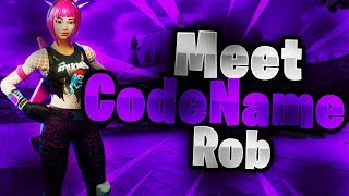 Meet CodeNameRob! New Clan member to CodeName! Fortnite Montage[Nice for what-Drake]