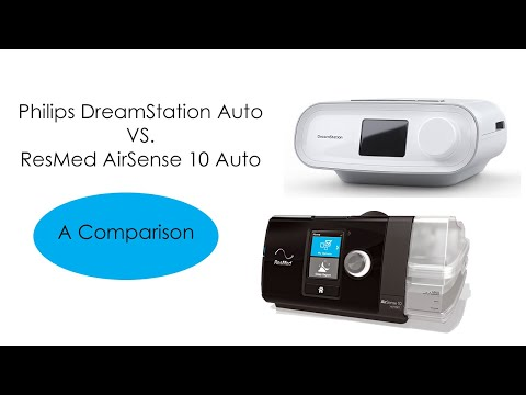 ResMed AirSense 10 Auto Vs. Philips Respironics DreamStation Auto CPAP Machine
