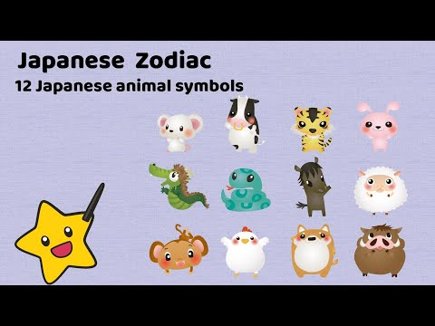 JAPANESE ZODIAC [ETO] : Meanings Of The 12 Animals