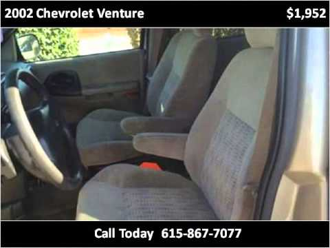 2002 Chevrolet Venture Used Cars Nashville TN